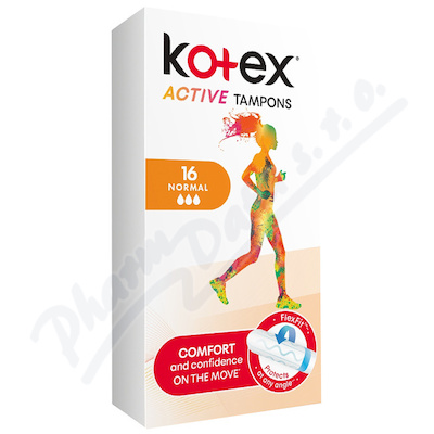 KOTEX Tampony Active Normal 16ks