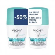 Vichy Deo roll-on Anti-traces antiperspirant 48h DUO 2x50ml
