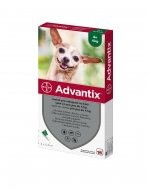 Advantix spot-on pes do 4kg 4x0,4ml