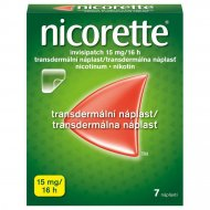Nicorette Invisipatch 15mg/16h 7x15mg