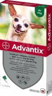 Advantix spot-on pes do 4kg 1x0,4ml