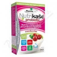 Nutrikaše probiotic - cranberries 180g (3x60g)