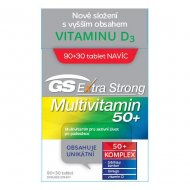 GS Extra Strong Multivitamin 50+ tbl.90+30 2021