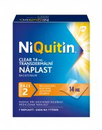 Niquitin Clear 14mg náplasti 7ks