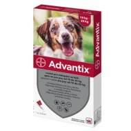 Advantix spot-on pes 10-25kg 1x2,5ml