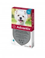 Advantix spot-on pes 4-10kg 4x1ml