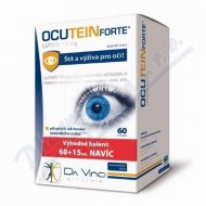 Ocutein FORTE Lutein 15mg cps.60+15 zdarma