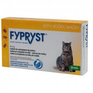 Fypryst spot-on Cat 1x0,5ml (kočka) 1 pipeta