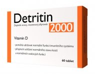 Detritin 2000 IU 60 tablet