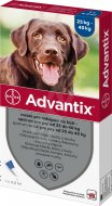 Advantix spot-on pes od 25kg 1x4ml